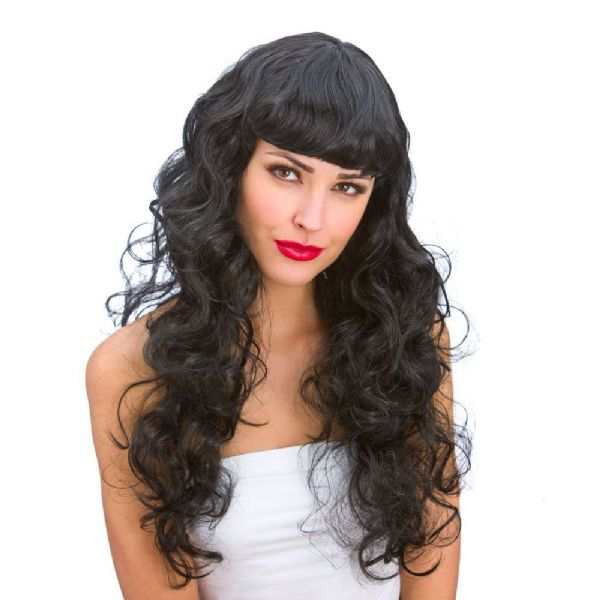Ladies Foxy Wig for 90s 00s Fancy Dress Cosplay Outfit